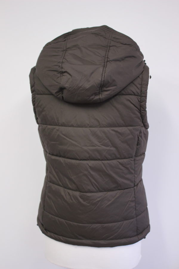 MERCHANDISE gilet ladies brown back