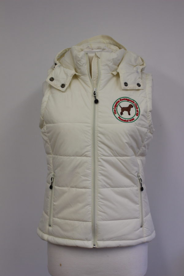 MERCHANDISE gilet ladies cream front