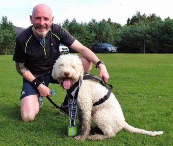 Derek Turner and Bella compete regularly in Scotland